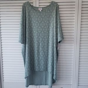 NEW! With tags! LuLaRoe Irma. Top/tunic. Size 2XL